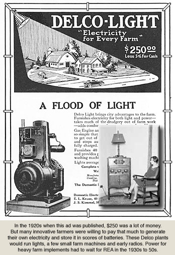 Delco Lighting Plant advertisement