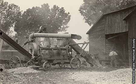 1920s Machines Picking Corn