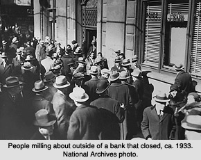 how many banks failed during great depression