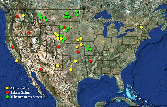 Image result for U.S. Missile Bases