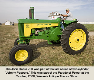 machines0302 john deere tractors during the 1950s and 60s  at webbmarketing.co