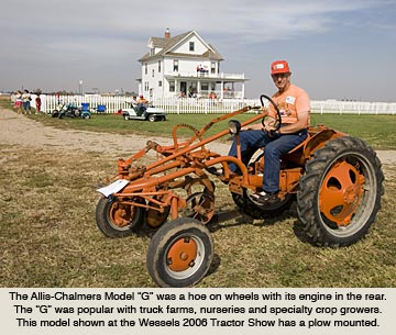 Allis Chalmers Tractors During The