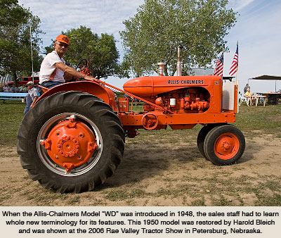 Allis-Chalmers Tractors during the 1950s and 60s