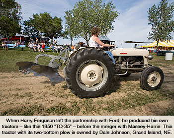 Massey-Harris Becomes Massey-Ferguson during the 1950s