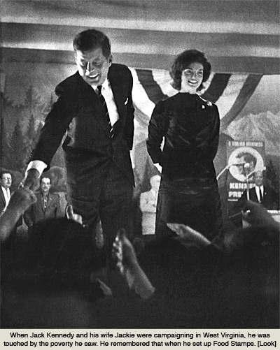 Jack And Jackie Kennedy Campaigning In West Virginia