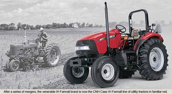Red Brand New Farmall Tractors : Cnh case new holland tractors from to today