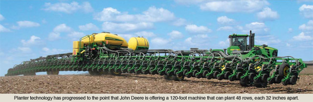 Planter Technology From 1970 To Today