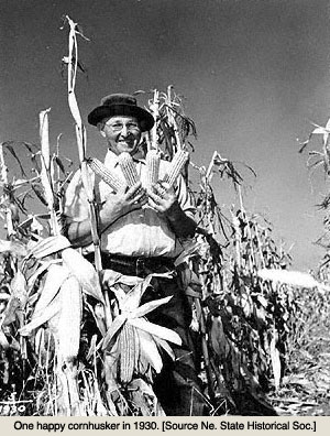 Cornpicker in 1930