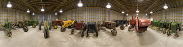 The tractor museum