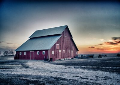 Gregg Sutton Winter barn